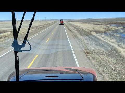 Case 620 vs RX620 John Deere on the road