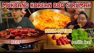[ENG] MUKBANG KOREAN BBQ di RUMAH