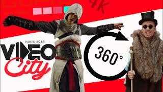 [360°] ▶︎ NORMAN ET SQUEEZIE  ▷ Assassin des Templiers - 360° video _By LAB