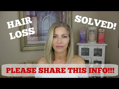 Hair Loss SOLVED! Hashimotos and Thyroid Medication ~ Levothyroxine