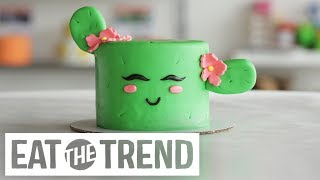 How to Make a Cactus Cake | Eat the Trend by POPSUGAR Food