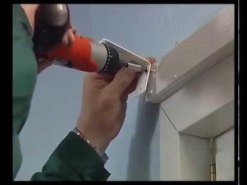 Как установить жалюзи к пластиковым окнам