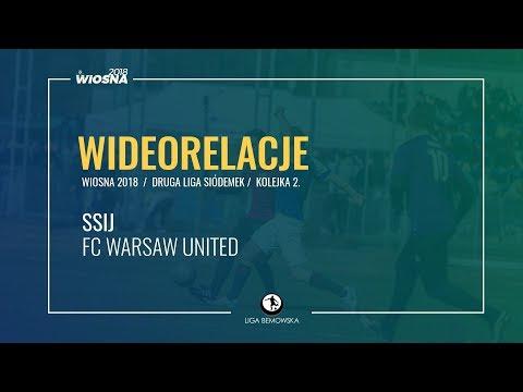 LIGA BEMOWSKA / WIOSNA 2018 / KOLEJKA 2. / SSIJ - FC WARSAW UNITED