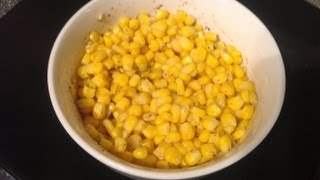 Without Oil Pepper Sweet Corn