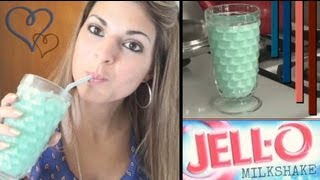 Jello Milkshake! :) - YouTube
