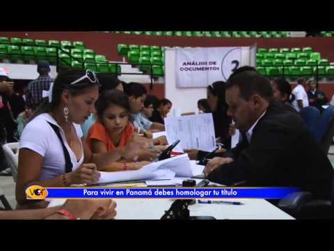 Para establecerte en Panamá por estatus extranjero profesional debes homologar tu título
