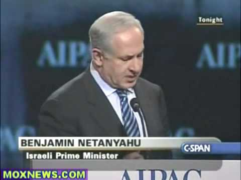 Netanyahu at AIPAC 2010 pt 4 of 4