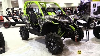 8. 2015 Can-am Maverick X-MR 1000R - Exterior and Interior Walkaround - 2014 Toronto ATV Show