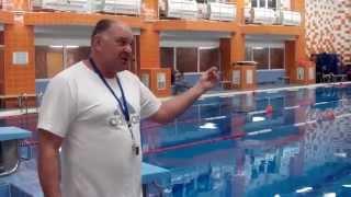 Соревнования по прикладному плаванию 2015 (видео №1)