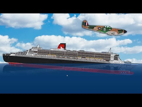 How To Make A Cruise Ship Pop Like A Balloon! - Sinking Simulator 2 Gameplay