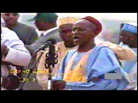 Dr  SHATA 1998 A TARON TAZARCEN GENERALI ABACHA GREAT MARCH IN MARCH