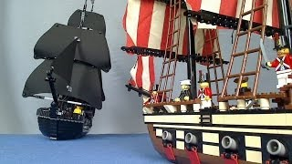 LEGO Pirate Sea Battle - LEGO Police Chase Part 3