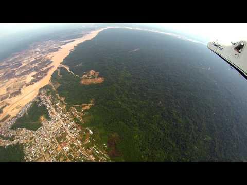 Imágenes de la devastación causada por una minería ilegal en Perú