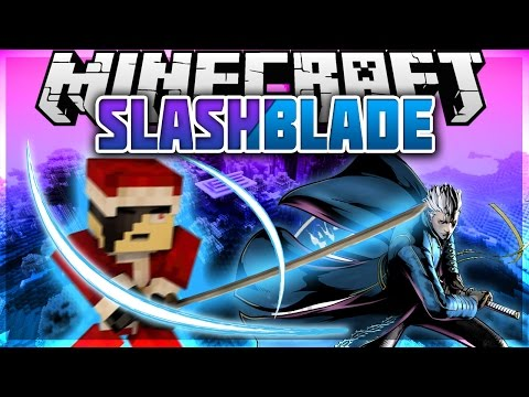 Minecraft: Mod Showcase - SlashBlade [ SWORDS AND SPECIAL ABILITIES ]