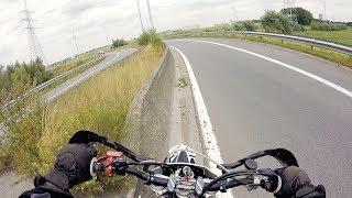 6. I almost crashed | KTM SMR 450