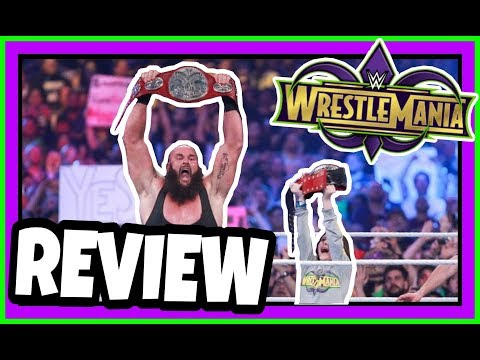REVIEW | WWE Wrestlemania 34 New Orleans | Undertaker Returns, Asuka Loses & Nicolas Arrives!