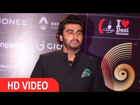 Arjun Kapoor At Red Carpet Of GIMA Awards