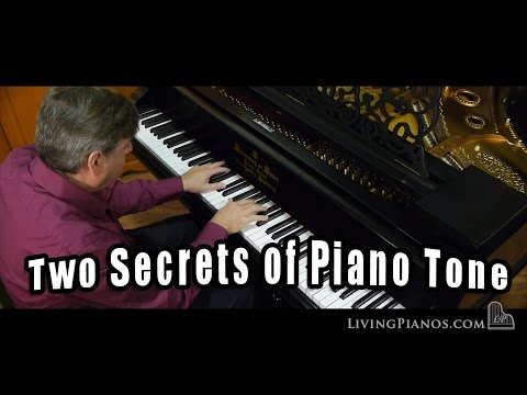 Two Secrets of Piano Tone