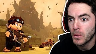 Is This Minecraft 2? (Hytale Trailer Reaction) by CaptainSparklez