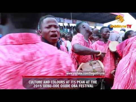 CULTURE AND COLOURS AT IT'S PEAK, AT THE 2015 IJEBU-ODE, OJUDE OBA FESTIVAL