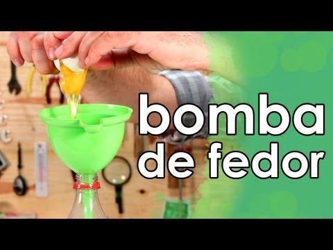 Como fazer uma bomba de fedor caseira