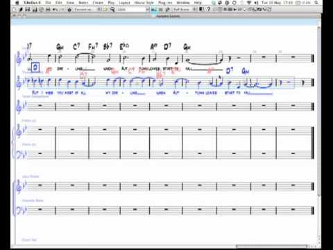 Sibelius advanced copying, cutting and pasting