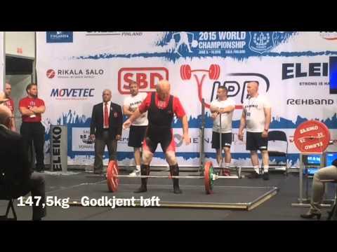Arnfinn (79) tok bronse under VM