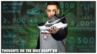 Thoughts on the NIKE ADAPT BB   Auto-Lacing Basketball Shoe