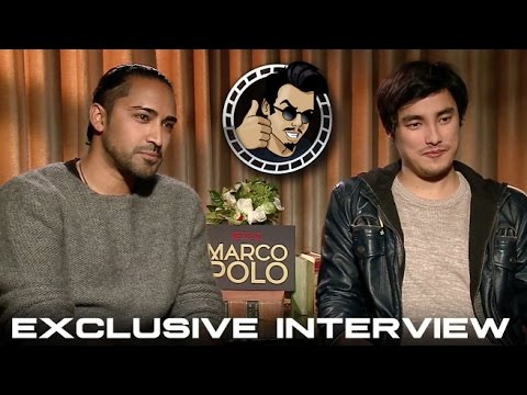 Mahesh Jadu and Remy Hii Interview - Netflix's Marco Polo (HD) 2014