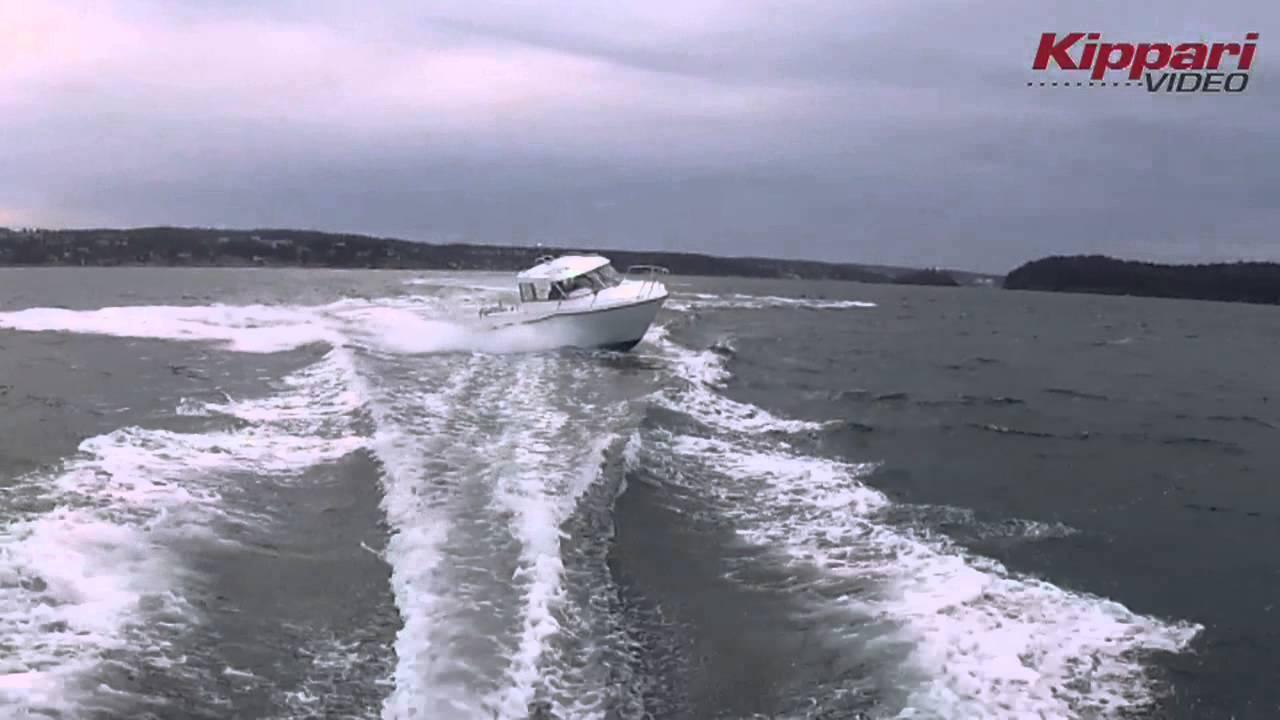 Морской всепогодный катер для рыбалки AMT 215 PH – Тесты на воде