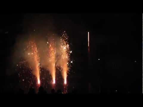 Feuerwerk Uni Rostock 20.03.12