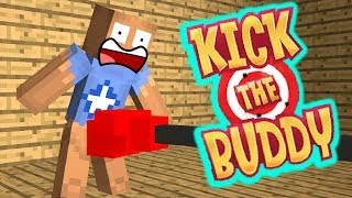 Video Monster School : KICK THE BUDDY  - Minecraft Animation MP3, 3GP, MP4, WEBM, AVI, FLV Juli 2018