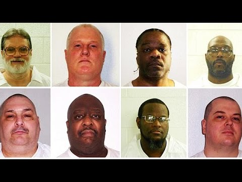 Αρκάνσας: Αντιδράσεις για τις εκτελέσεις επτά θανατοποινιτών