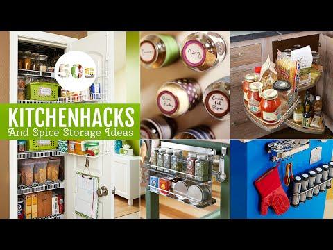 50s Creative Kitchen storage ideas