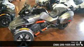 1. 2016 Can-Am SPYDER F3-T SE6 w/Audio System  - Pro Caliber...