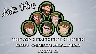 Let's Play - The Achievement Hunter 2014 Winter Olympics Part 2