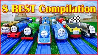 Video THOMAS AND FRIENDS THE GREAT RACE TRACKMASTER COMPILATION   THOMAS & FRIENDS TOY TRAINS MP3, 3GP, MP4, WEBM, AVI, FLV Juni 2018