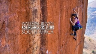 Waterval Boven South Africa  city photos gallery : Paige Claassen - Boven, South Africa - Rolihlahla (32, 5.13d)
