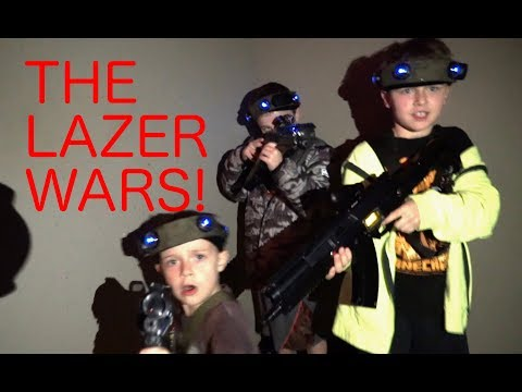 The Lazer Wars by Zachary Donovan, Age 9
