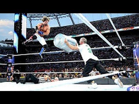 WWE Wrestlemania 33 Shane Mc Mahon Vs Aj Styles Full Match Hd