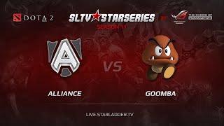 Goomba vs Alliance, game 1