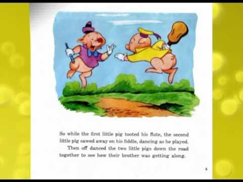 read a book - This is Walt Disney's 'The Three Liitle Pigs' childrens story. The images have been scanned at high quality, and the record digitized and cleaned as much as ...