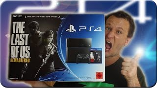 PS4 Sony Playstation 4 Unboxing - The Last of us REMASTERED Bundle