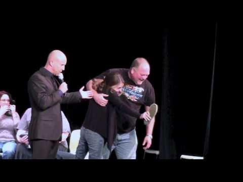 Hypnosis Stage Girl Assaults Vin Diesel!
