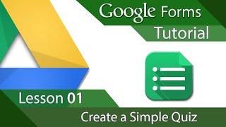#11 [구글스프레드시트] Google Forms - Tutorial 01 - Creating a Simple Quiz (영문)