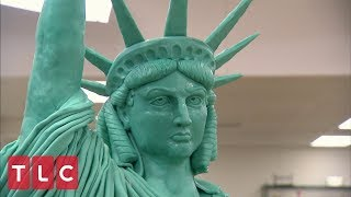 Video Buddy Makes a Statue of Liberty Cake | Cake Boss MP3, 3GP, MP4, WEBM, AVI, FLV Agustus 2018