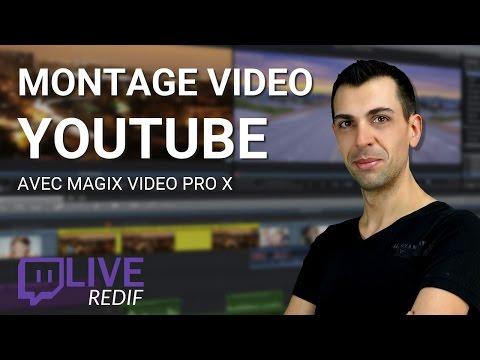 (TUTO) FAIRE UN MONTAGE VIDÉO YOUTUBE ! Magix Video pro X - Family Geek