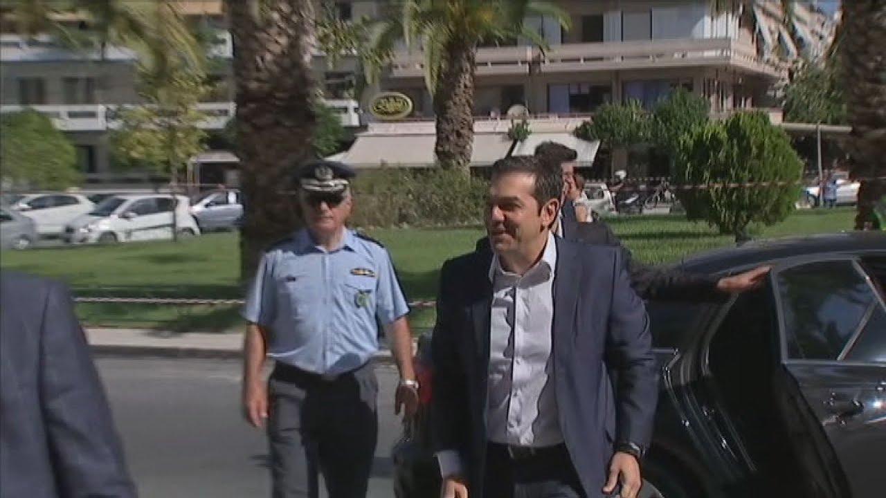 Στα Χανιά βρίσκεται ο πρωθυπουργός, Αλέξης Τσίπρας.