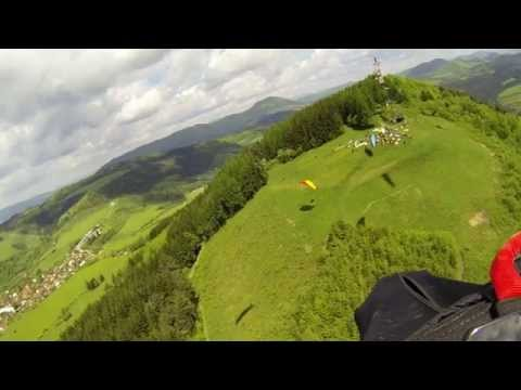 Nádherné video zábery ponad Žilinu z go-pro kamery súťažiacích