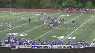 Norwood vs Framingham Football